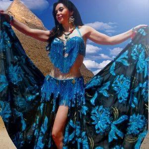 La danza oriental repercute favorablemente en nuestro cuerpo