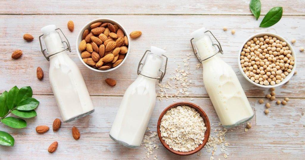 Prepara leche vegetal en 4 pasos un artículo de sanamente.net