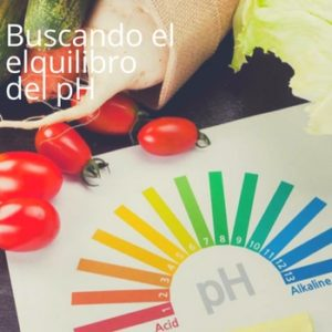 buscar un pH equilibrado