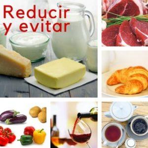 alimentos a evitar para no desminarilizarnos