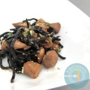 receta alga hiziki con pechuga de pollo