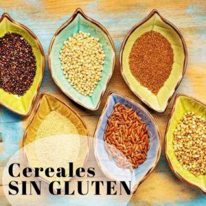 Cereales sin gluten, tipos y propiedades