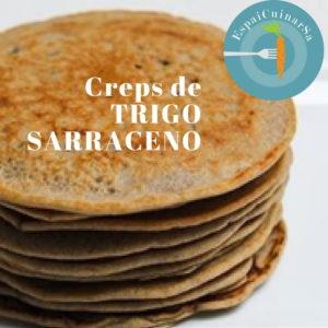 crepes de trigo sarraceno, receta sin gluten