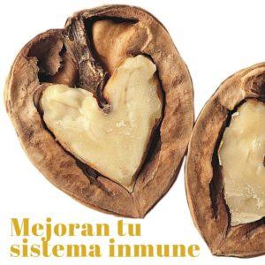 Las nueces mejoran el sistema inmune