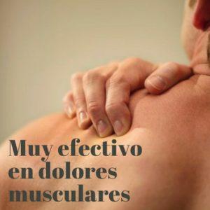 Técnica muy efectiva con dolores musculares