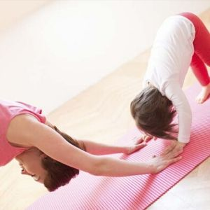 yoga y familia