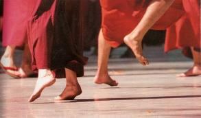 meditacion activa , consciente al movimiento