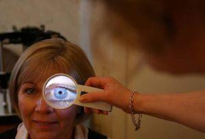 hacer un diagnóstico por el iris