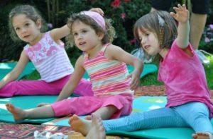 Pero que es yoga para niños