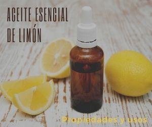 Aceite esencial de limón cítricos