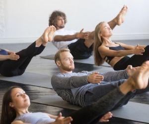 Pilates en grupo