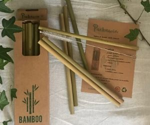 pajas de bambú de packawin