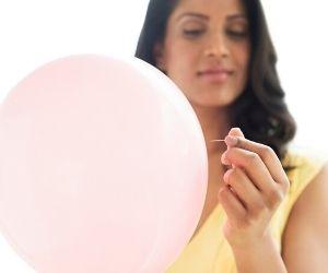 sentirse hinchada debido al S premenstrual