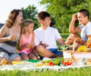 Disfrutar con la familia