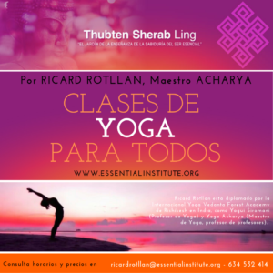clases de yoga en Essential Institute