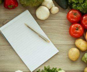 elabora una lista de la compra teniendo en cuenta el espacio de tu despensa