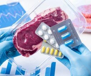vacunas y antibiótico en la carne y la leche