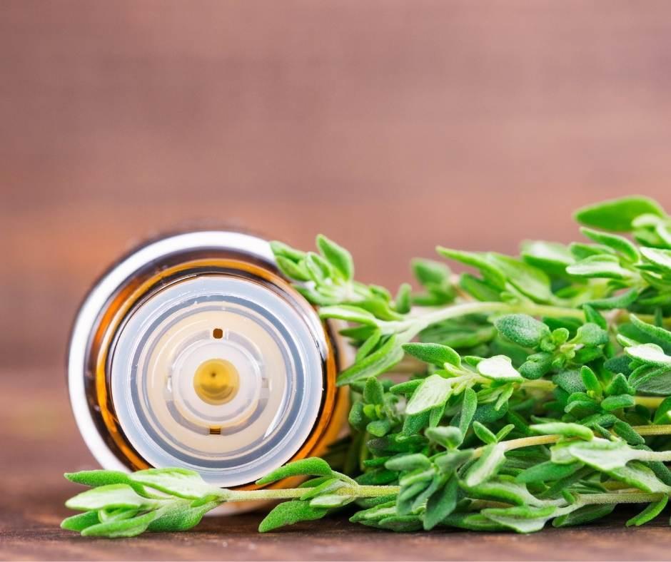 Aceite esencial en nuestras ensaladas