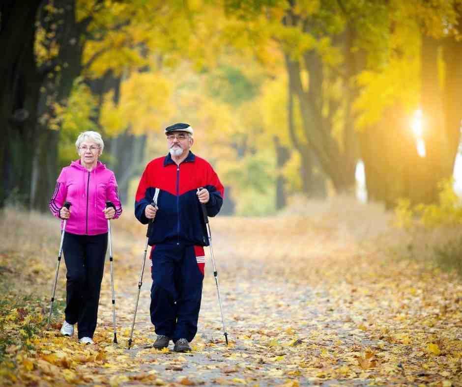 En compañía es mejor caminar al aire libre