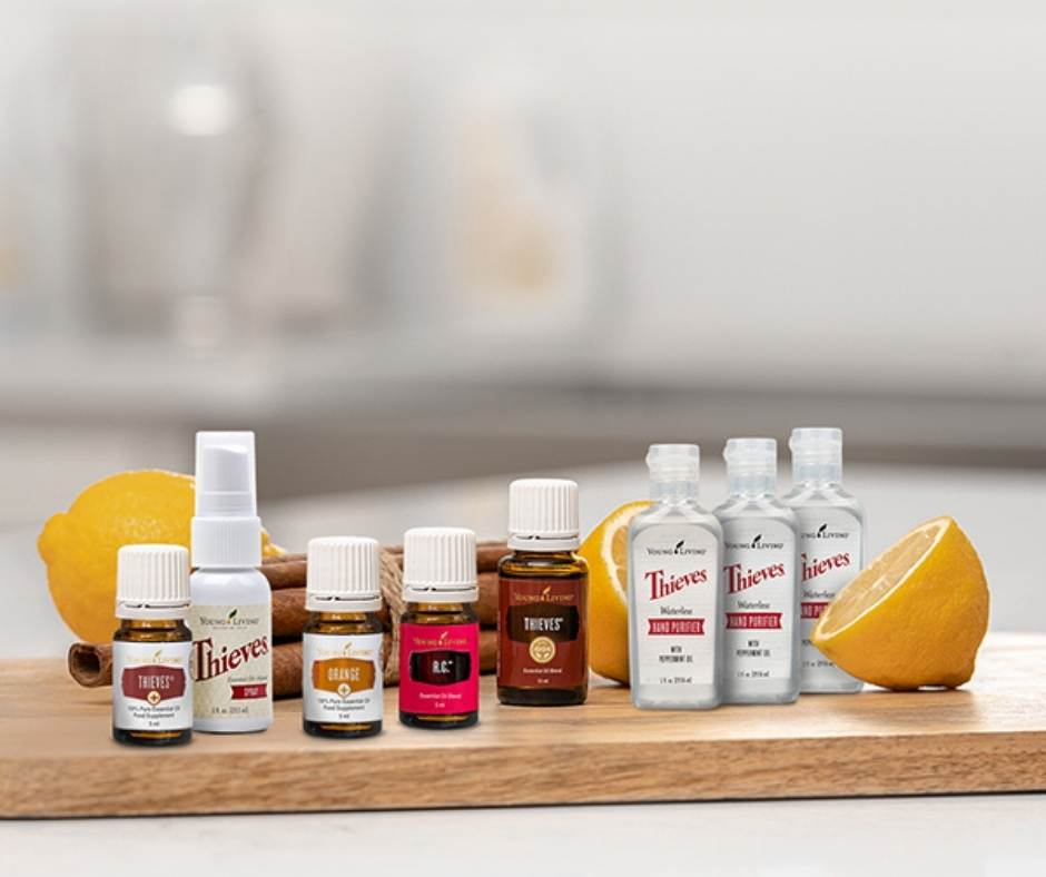 algunas variedades de aceites esenciales de Young Living para cocinar