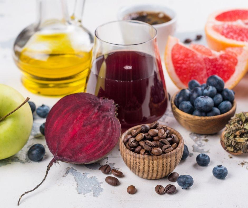 tomar frutas y verduras para depurar el hígado