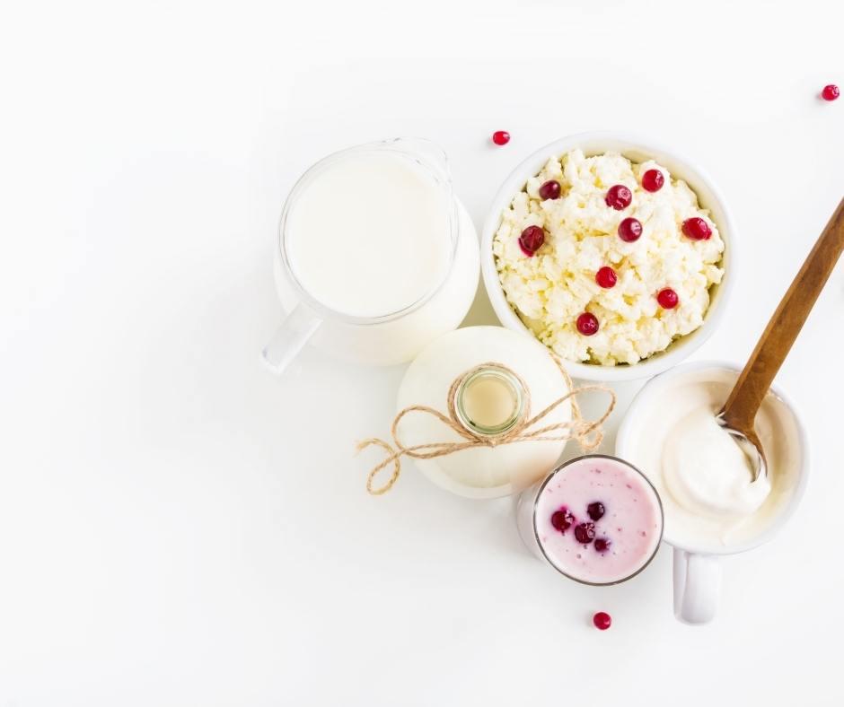 alimentos que favorecen la microbiota como el kefir