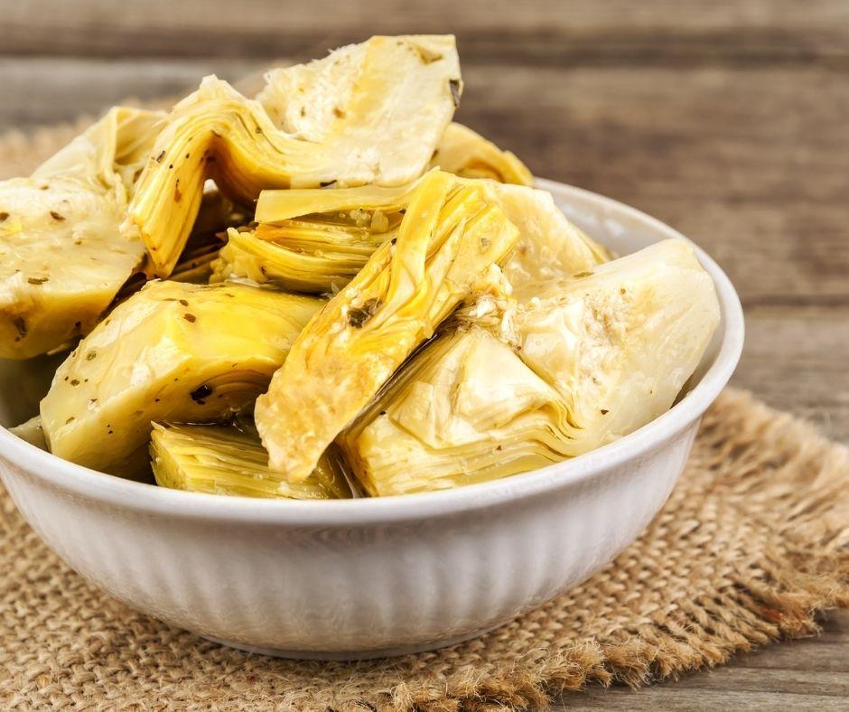 recetas saludables con alcachofas