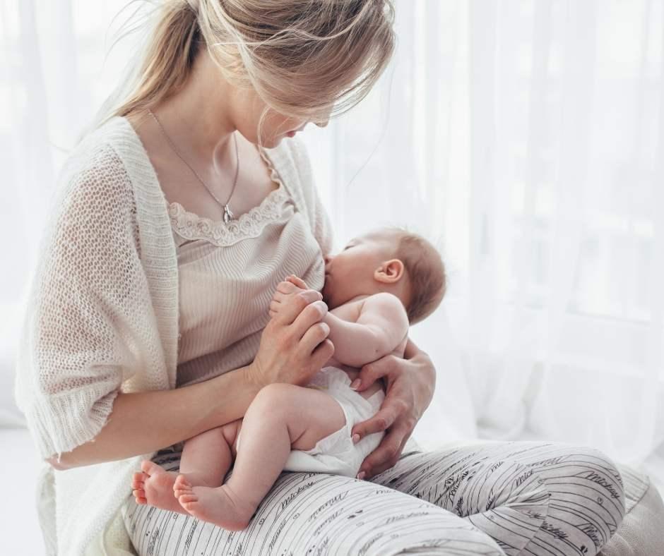 Alimentación del bebé durante los primeros meses