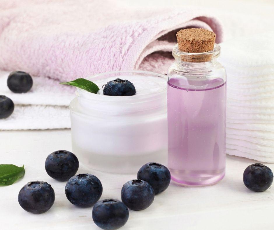 arándanos propiedades saludables para el cuidado de la piel