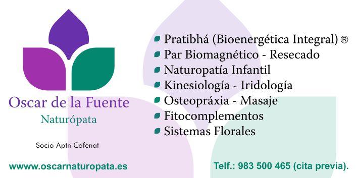 Consulta de Naturopatía Óscar de la Fuente