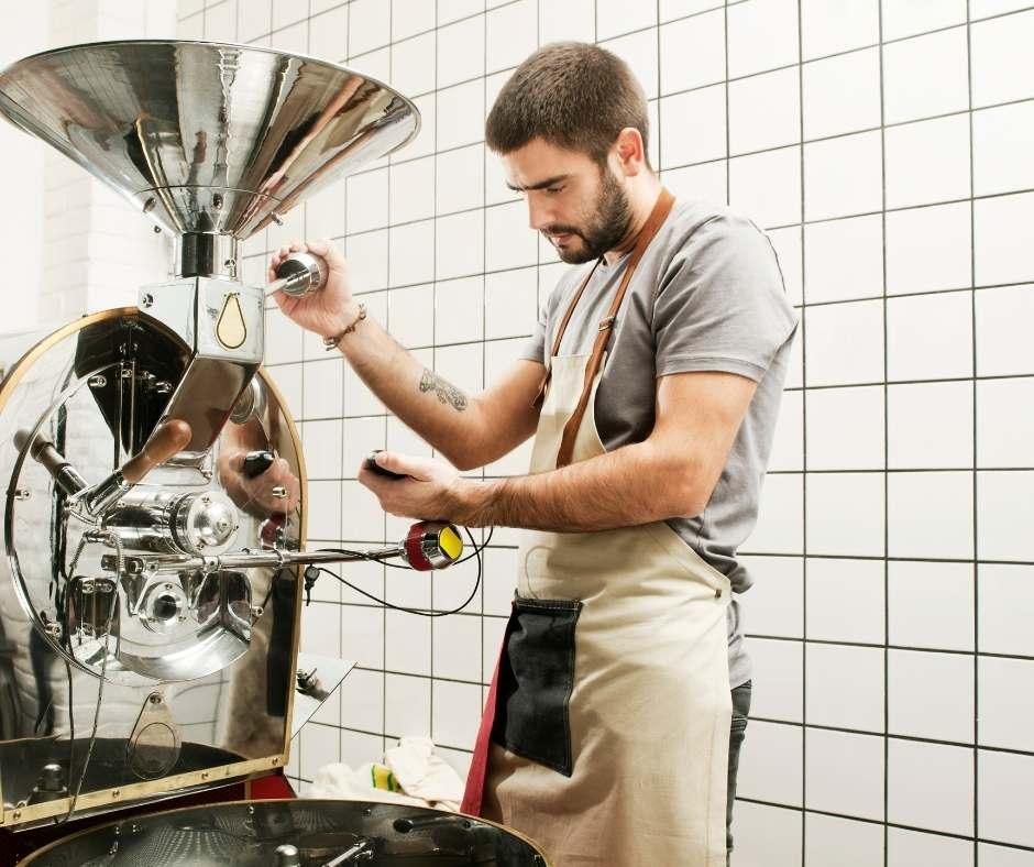 elaboración del café