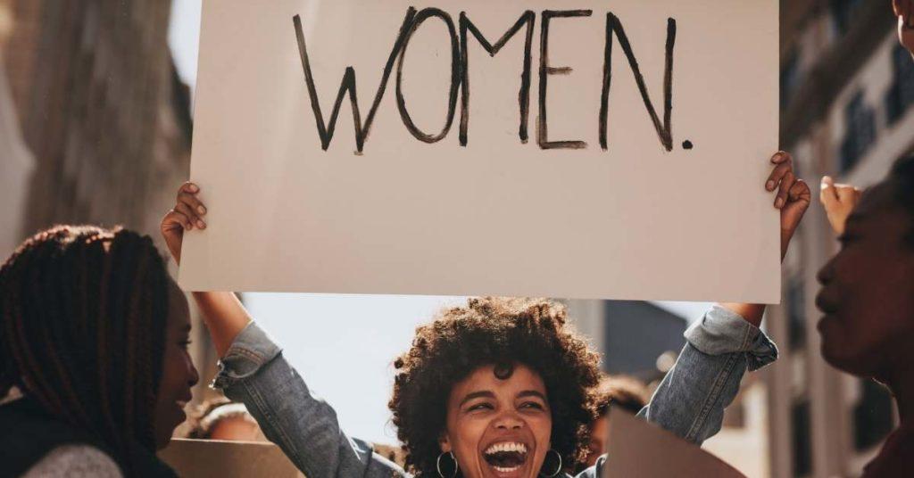 lucha por los derechos de las mujeres