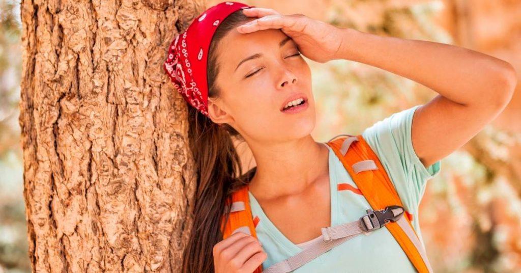 desidratación un problema de salud en verano