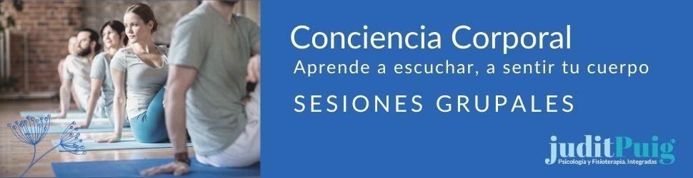Sesiones grupales Judit Puig